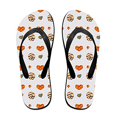 f6964c708659 Image Unavailable. Image not available for. Color  Couple Flip Flops Heart  Cookies Print ...