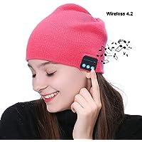Auriculares del sombrero de la gorrita tejida