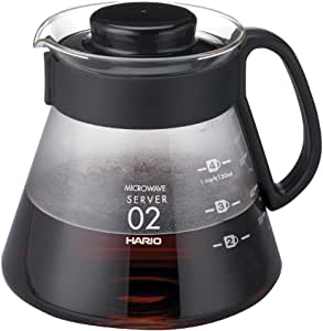 Hario XVD-60B Coffee Server, Black