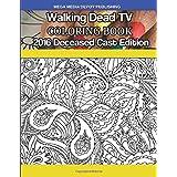 Walking Dead TV Deceased Cast 2016 Coloring Book