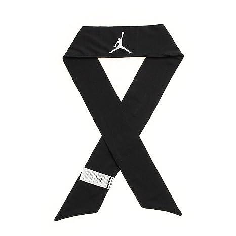 Amazon.com   Nike Jordan Jumpman Dri-FIT Head Tie (Black White ... 72af49b3eff