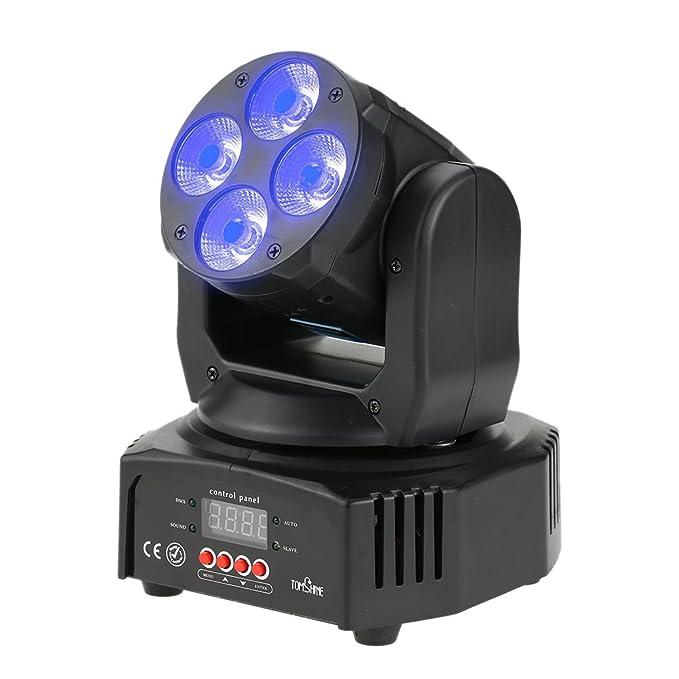 Tomshine - Luces de 40W 12 LED RGB con Efecto de lavado movimiento de barrido de escena.