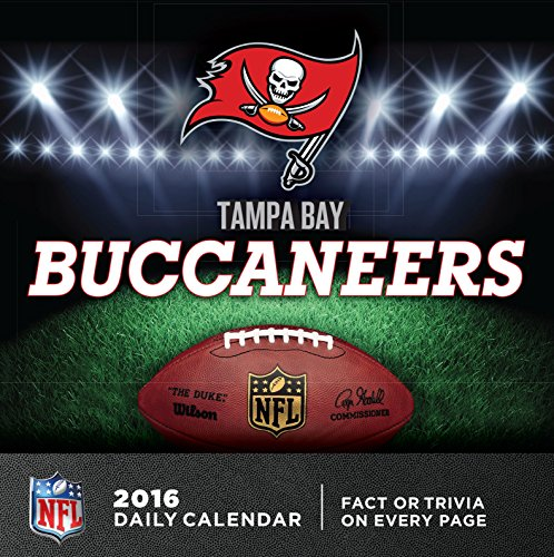 Turner Tampa Bay Buccaneers 2016 Box Calendar, January-December (8051455)