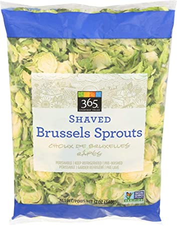 365 Everyday Value Shaved Brussels Sprouts, 12 oz Bag