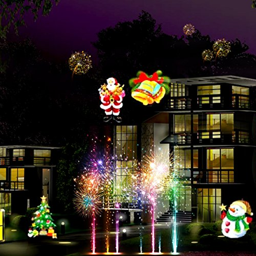Light with remote control txdue led landscape spotlight light projector light with remote control txdue led landscape spotlight light projector with switchable 16 slides for halloween aloadofball Images