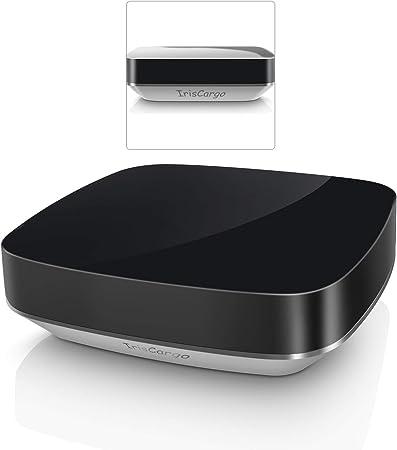 contr/ôleur de maison intelligent tout-en-un t/él/écommande intelligente WiFi pour TV//Climatiseur//STB//ventilateurs T/él/écommande universelle IR et RF compatible avec Alexa et Google Home