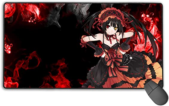 75x40 cm Persona 5 Non-Slip Mouse Pad Rectangle Rubber Gaming Mouse Pad Anime Mouse Pad 30x15.7 Inch