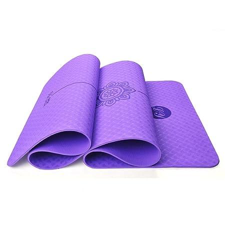 Estera Yoga Estera de Yoga Transpirable, Antideslizante ...