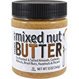 Trader Joe's Mixed Nut Butter Almonds, Cashews, Walnuts, Brazil, Hazelnuts, & Pecans 12 oz