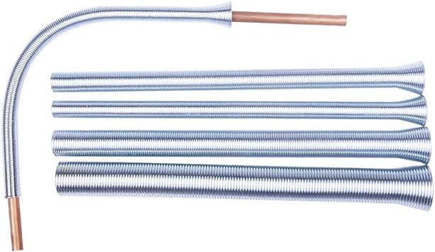 Spring Tube Bender Kit 1//4 5//16 3//8 1//2 /& 5//8