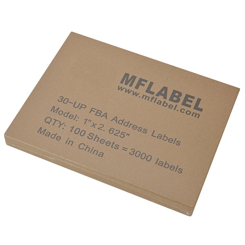 Amazon.com : MFLABEL 30-UP 100 Sheets 1\