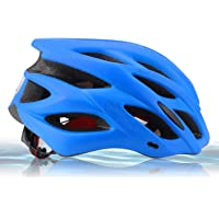 Zamelux Casco para Bicicleta Patinete con luz