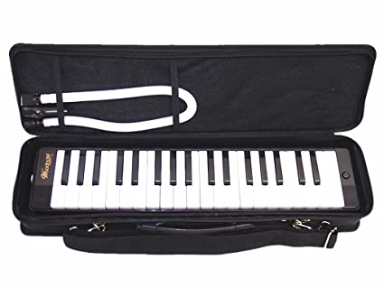 Amazon.com: Woodnote Negro Bello 37 Melodica clave con funda ...
