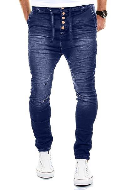 87586d9eeb MERISH Pantalones Vaqueros Hombre con Tiro caído Slim Fit Modell J3012   Amazon.es  Ropa y accesorios