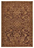 "Modela Collection Vintage Medallion Design Traditional Oriental Area Rug Rugs (Brown, 7'8″x9'10"")"