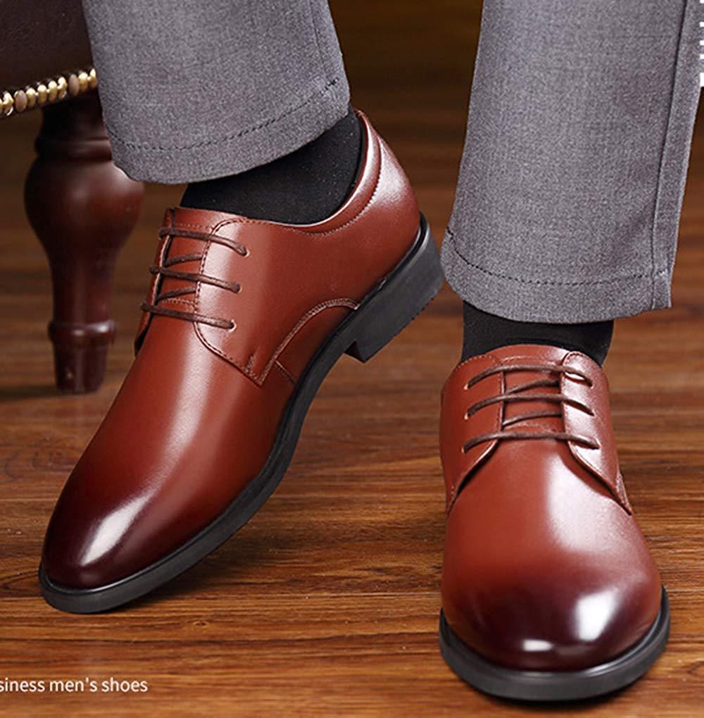 Oudan Oudan Oudan Herrenschuhe Derby Schuhe Business Casual Schuhe Schuhe Schuhe Hochzeit Schuhe (Farbe   Braun, Größe   39EU) f4d0c0