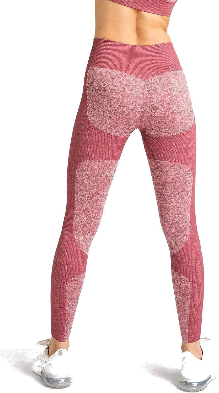 M MOYOOGA Seamless Workout Leggings for Women High Waisted Leggings for Yoga Gym Sports