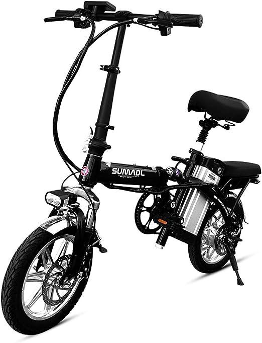 ZBB Bicicleta eléctrica Ligera y Plegable, 8