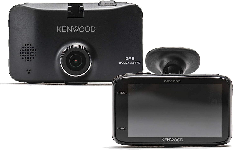 Kenwood Drv 830 Wide Quad Hd Dashcam Mit Gps Und Fahrassistenzsystem 3 7 Mp Schwarz Navigation