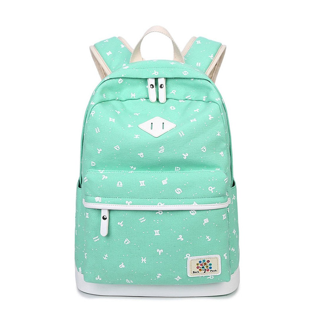 Mochila de lona Volver a mochilas escolares Mochilas de niños para adolescentes Mochila Mochila para mujer mochilas femeninas Black 42x30x17cm: Amazon.es: ...