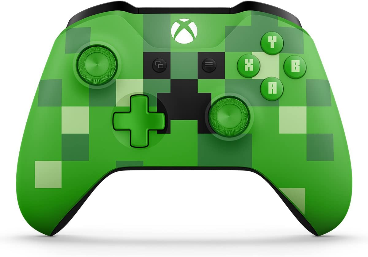 Amazon Com Xbox Wireless Controller Minecraft Creeper Xbox One