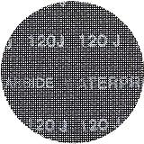 DeWalt DTM8563-QZ Sanding mesh, One Size Set of 10 Pieces
