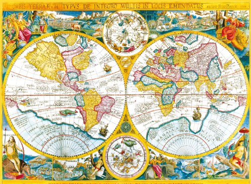 Clementoni Old Map 4000 Piece Jigsaw Puzzle