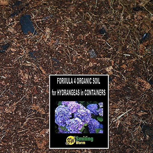 SMILING WORM 15 Quarts Organic Potting Mix with Charcoal + FREE 6 Quart Cocopeat Brick for Perennial Plants Peony Hosta Hydrangea Ixora Lavender Carnation Phlox Astilbe FREE DELIVERY IN 2-8 DAYS