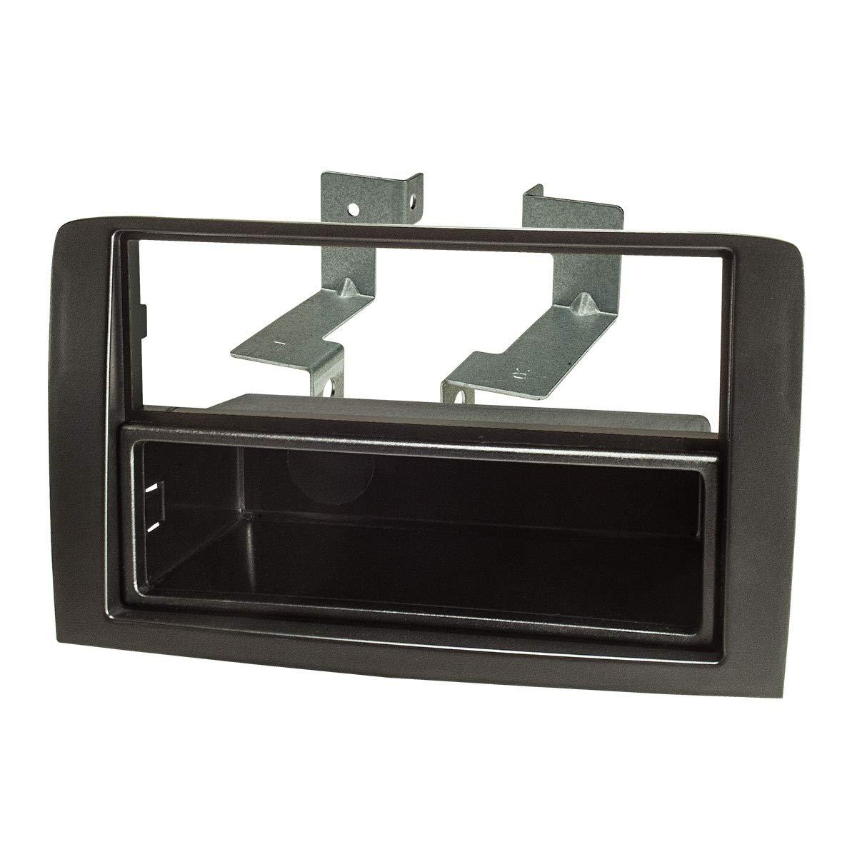noir ACV electronic fa/çade dautoradio pour fiat idea set