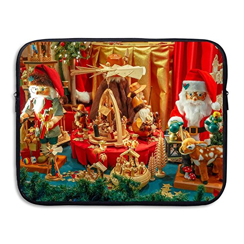 BANA Custom Merry Christmas Gift Water-resistant Laptop Zipper Case 15 Inch (Jet 7 Club Halloween)