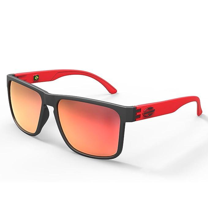 Gafas de sol Monterey, Mormaii negro mate con lentes de color rojos  Amazon. es  Ropa y accesorios 6b73d9b895