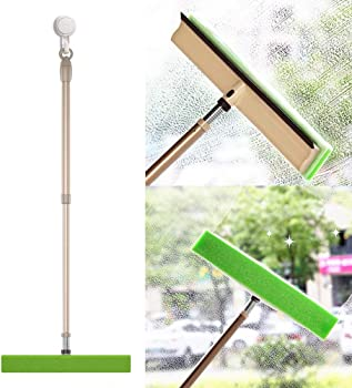 BOOMJOY Window Squeegee Combo, 3 in 1 Window Cleaner