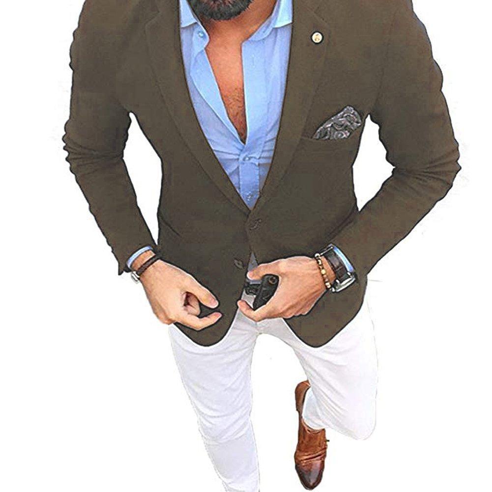 Leader of the Beauty Mens Suits Slim Fit Mens Tuxedo Mans Suit Wedding Groom for Men Jacket+Pants