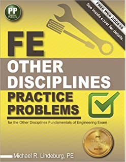 Fundamentals of engineering review a complete review of all of the fe other disciplines practice problems fandeluxe Choice Image
