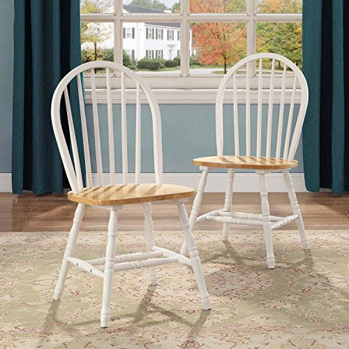 Windsor Desk Chair (BETTER HOMES AND GARDENS WINDSOR KITCHEN CHAIRS SET OF 4 AUTUMN LANE WHITE & NATURAL)