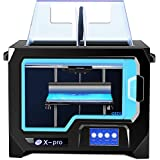 QIDI TECH 3D Printer, X-Pro 3D Printer with WiFi Function, Dual Extruder, High Precision Double Color Printing with ABS…