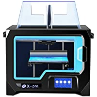 QIDI TECHNOLOGY 3D PRINTER Newest Model: X-Pro,WiFi Function,Breakpoint Printing,Dual Extruder,High Precision Printing 