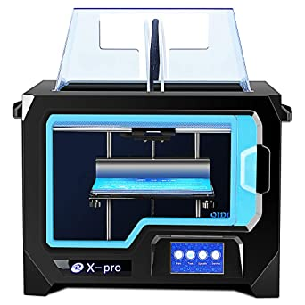 Qidi Tech 3D Printer, New Model: X-pro, 4.3 Inch Touchscreen ...