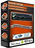 Voiture Renault Twingo, Kenwood Radio stéréo CD Lecteur MP3avec avant USB AUX IN