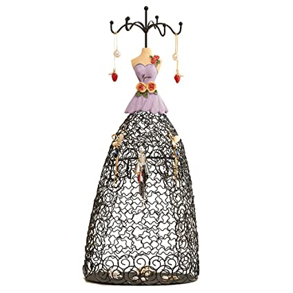 Amazoncom Jewelry Display Stand Holder Vintage Lady Decorative