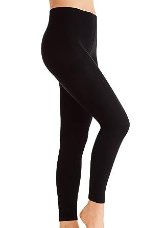 fd08d2530432fb Kirkwood Of Scotland 2 Pack Fleece Lined Leggings Warm Winter Women's  Thermal High Waisted Leggings Thick