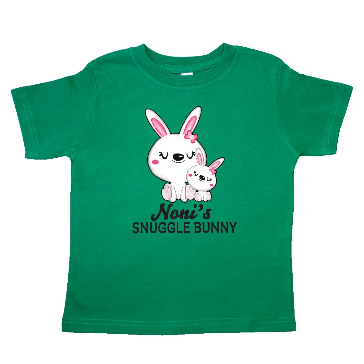 inktastic Nonis Snuggle Bunny Easter Toddler T-Shirt
