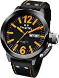 TW Steel Men's CE1027 CEO Canteen Black Leather Dial Watch