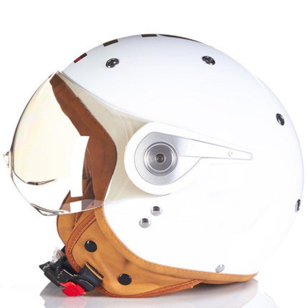 RAQ Sturzhelm im Freienart- und weisehelm ABS-Leichtgewichtler-Motorrad-Fahrrad-Sturzhelm-Sonnenschutzsicherheitsatmungsaktiver vierjahreszeiten-Sturzhelm (Farbe   E, größe   L(58-59CM))