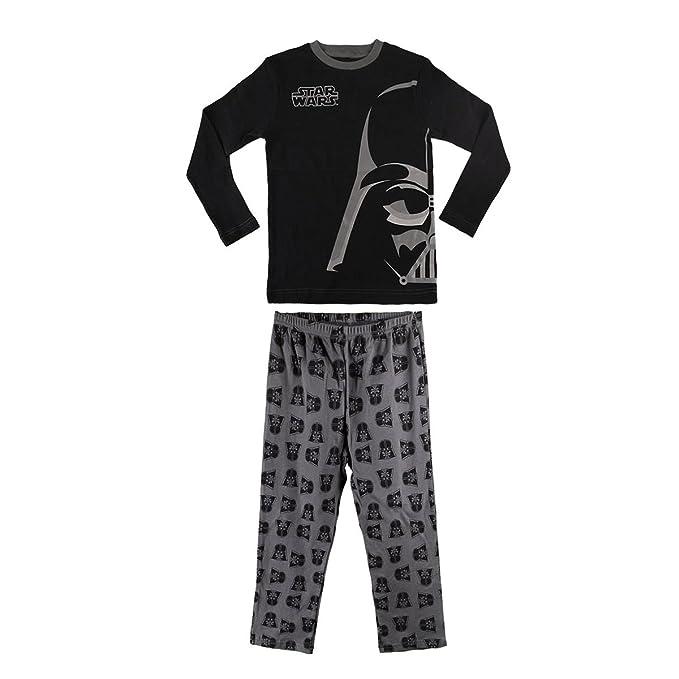 1724 Pijama de algodón para niños con motivo Star Wars 6 a 12 años (10