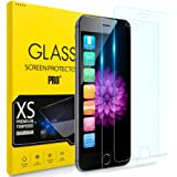 【2枚セット】 iPhone8 ガラスフイルム iPhone7 強化ガラス iPhone6 保護フィルム iPhone 6S液晶保護フィルム [日本製素材旭硝子製] 業界最高硬度9H /3D Touch/耐衝撃/極薄型/高透過率/指紋防止/自動吸着/気泡ゼロ アイフォン7 アイフォン8 強化ガラス液晶保護フィルム 全面保護ー 4.7インチ対応