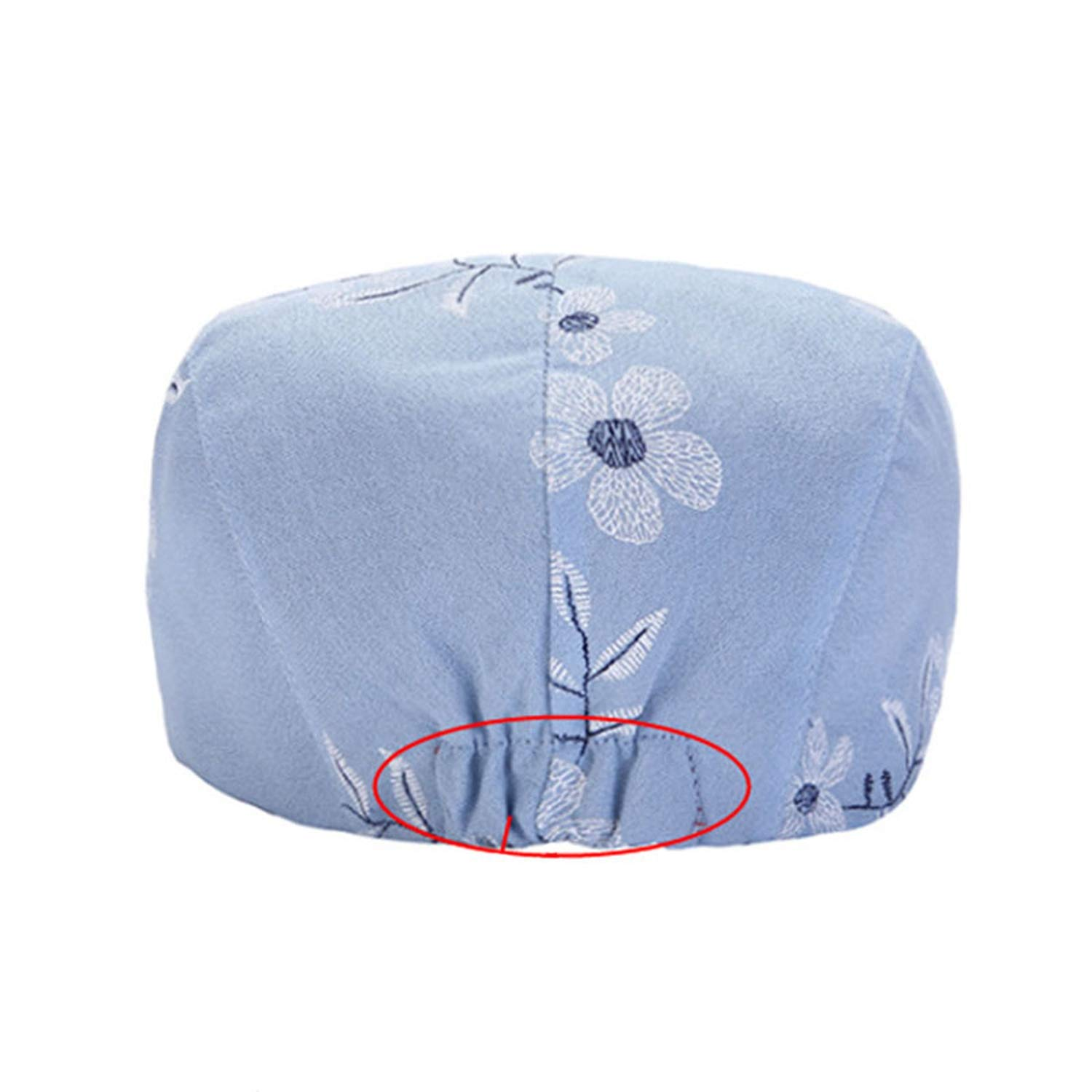 Spring Summer Women Newsboy Caps Retro Ethnic Style Floral Embroidery Ivy Berets Cap Hats