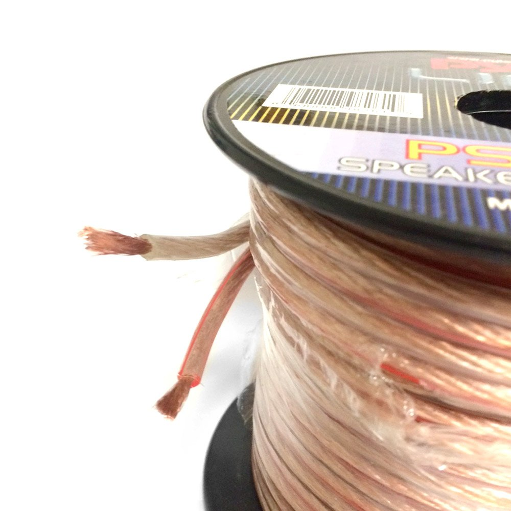 Amazon.com: 50ft 12 Gauge Speaker Wire - Copper Cable in Spool for ...