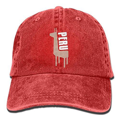 Béisbol Gorra Okhag única para de Hombre Talla Rojo Rosso qf77BZ6U