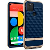 Caseology Parallax for Google Pixel 5 Case (2020) - Navy Blue